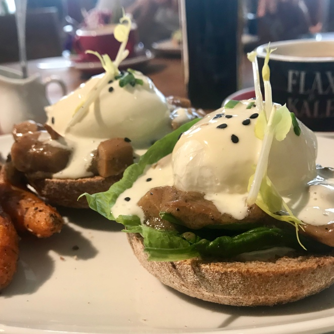 Breakfast at Flax & Kale Barcelona