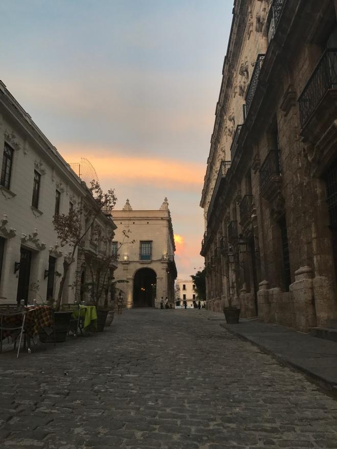 Street at Havana Vieja