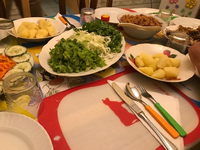 Casa Particular Dinner Cuba