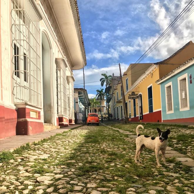 Street at Trinidad Cuba