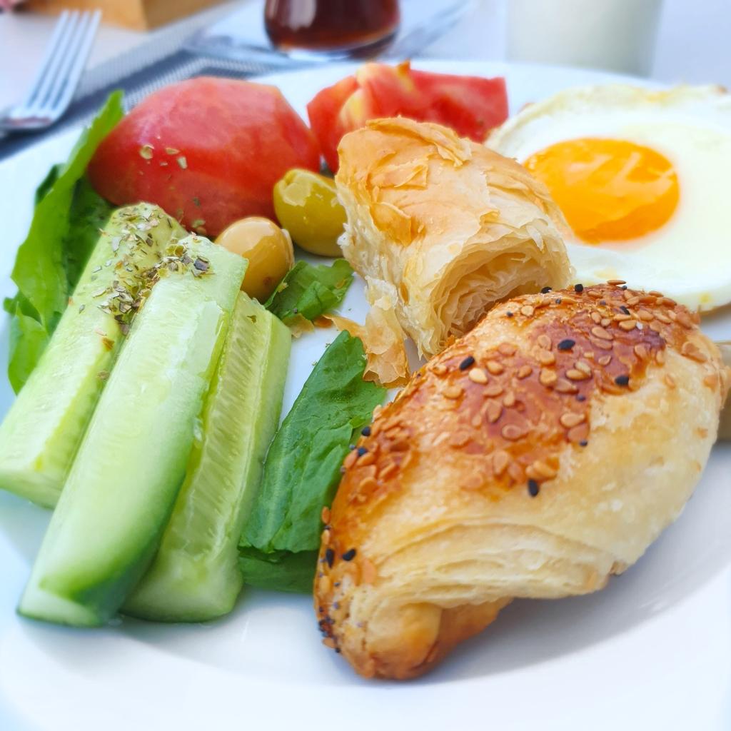 Breakfast at Akra Hotel