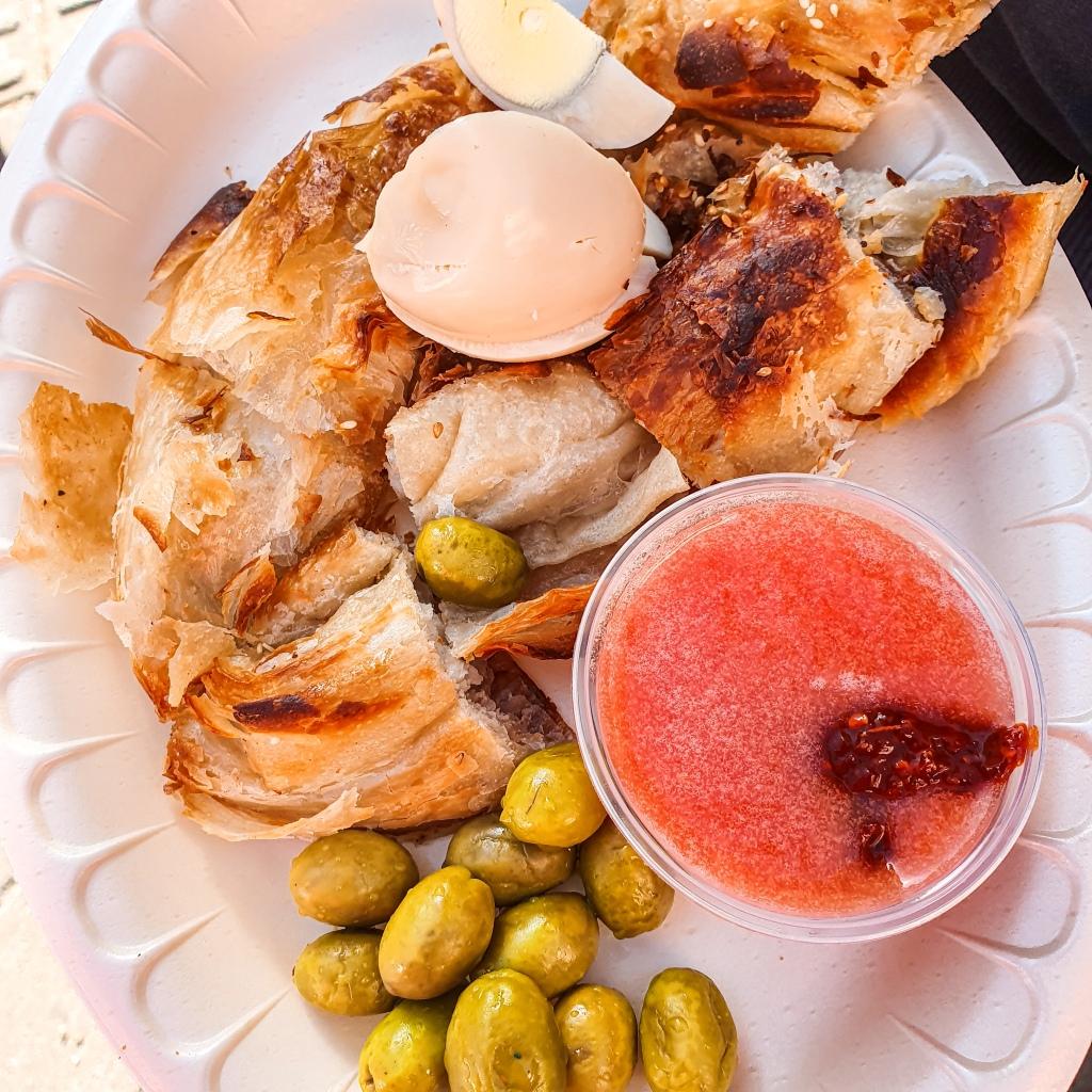 Burekas Levinski Market Tel Aviv